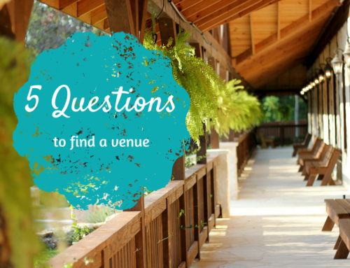 Top 5 Venue Questions (To Ask Yourself)