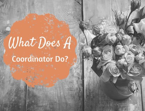 What Does A Wedding Coordinator Do?