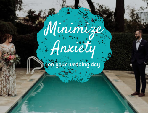 Four tips for minimizing anxiety on your wedding day