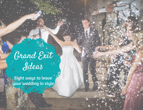 Leave your wedding in style: Grand Exit Ideas