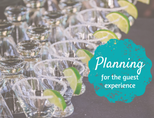 Planning for the guest experience