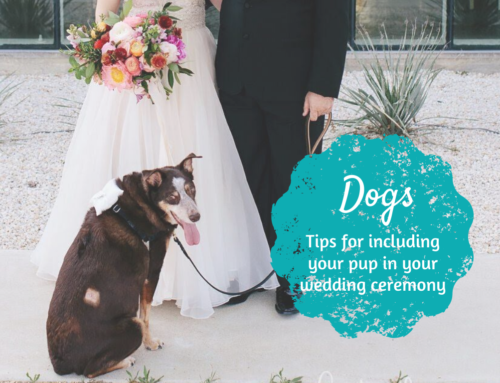 Do's and don'ts for including your dog in your wedding
