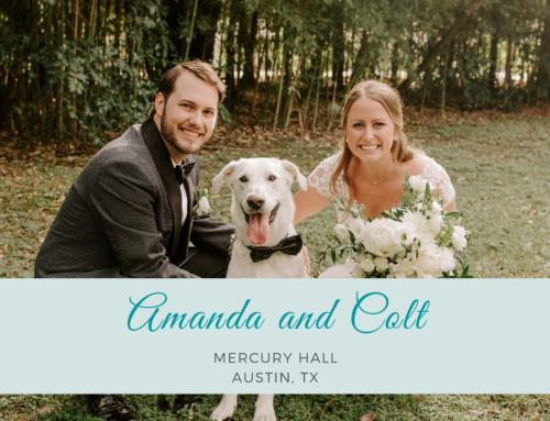 Amanda and Colt | Mercury Hall | Bride's Best Friend